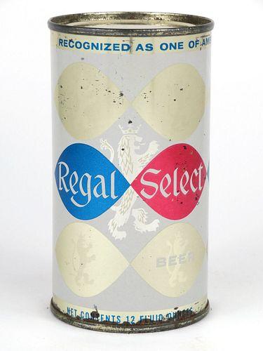 1962 Regal Select Beer 12oz Flat Top 121-18