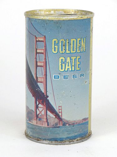 1967 Golden Gate Beer 12oz Tab Top T70-13