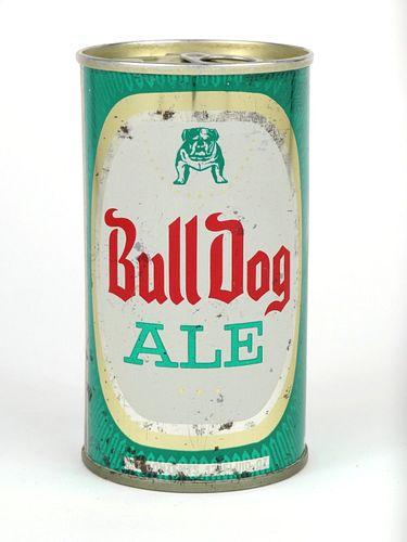 1967 Bull Dog Ale 12oz Fan Tab T50-05