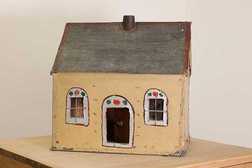 An Irish folk art doll's house