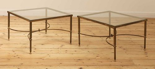 A pair of Maison Jansen-type occasional tables,
