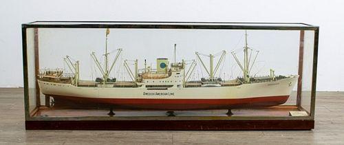 M/S Braheholm Shipbuilder's Model