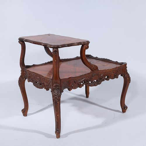 Small Two-Tier Table