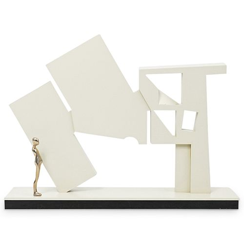 Ernest Trova (American.1927-2009) Gox Arch 10 Sculpture