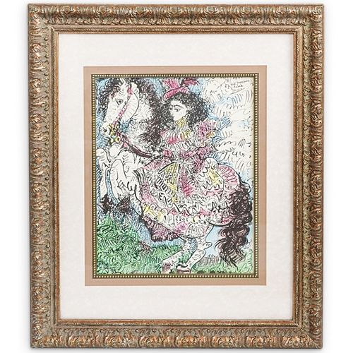 "Pablo Picasso (Spanish, 1881-1973) ""Toreros Y Toreros"" Lithograph"