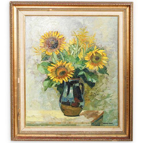 Dorothea Sharp (England, 1874 - 1955) Oil on Canvas Painting