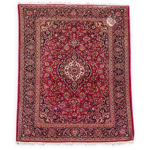 Oriental Silk & Cotton Blend Rug