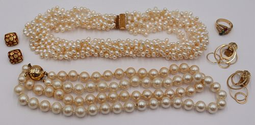 JEWELRY. Gold Jewelry Grouping Inc. Mavito.