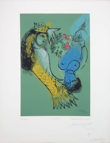 Marc Chagall (After) - La Sirene