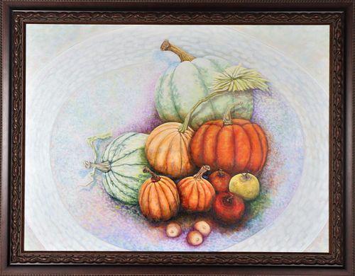 Joseph Cuffaro, American Oil on Canvas