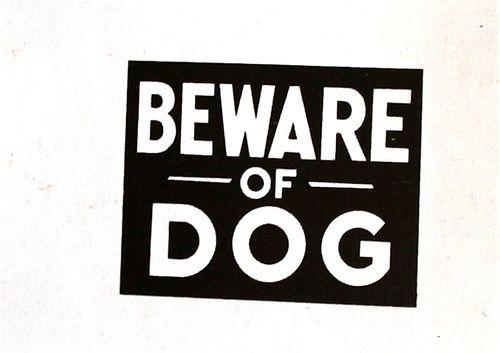 Andy Warhol - Beware of Dog