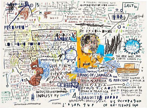 Jean-Michel Basquiat - 50 Cent Piece