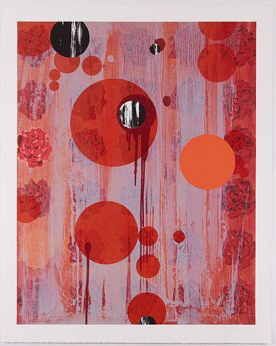 "Sabina Ott ""Mater Rosa I"" Lithograph 1991"