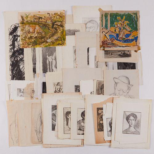 Large Grp: Chicago Artist Prints