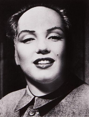 Philippe Halsman Marilyn as Mao