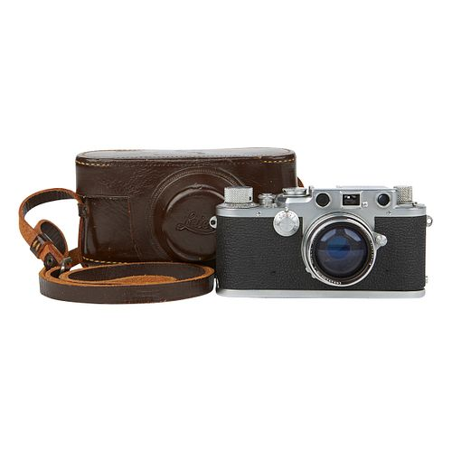 Leica D.R.P. Ernst Leitz Wetzlar Camera & Case