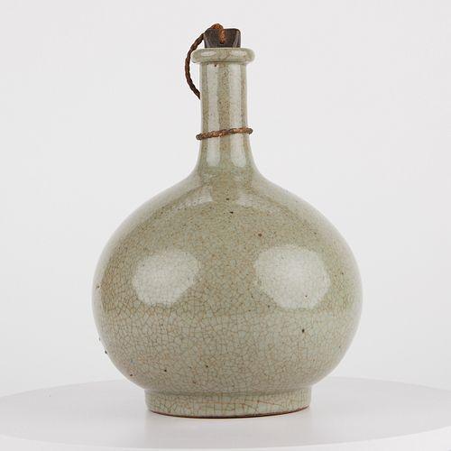 Korean Stoppered Bottle Vase