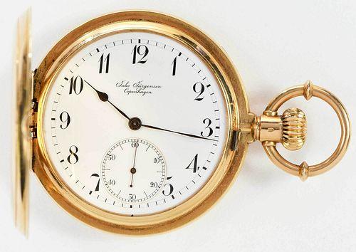 Jules Jurgensen 18kt. Pocket Watch