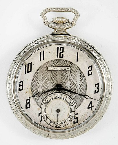 Dudley Watch Co. Masonic Pocket Watch