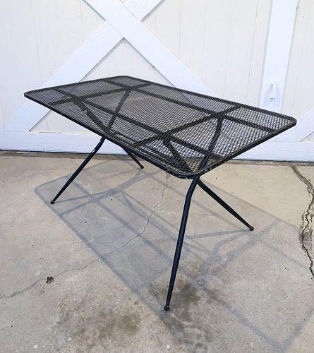 Vintage Folding Patio Table by Salterini for Rid-Jid