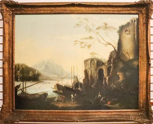 Manner of Charles F.G. Lacroix, French, Oil/Canvas