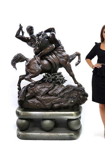 Monumental F.Barbedienne A.L Barye By Tiffany & Co.
