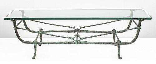 Diego Giacometti 'Table Berceau' Seconde Version