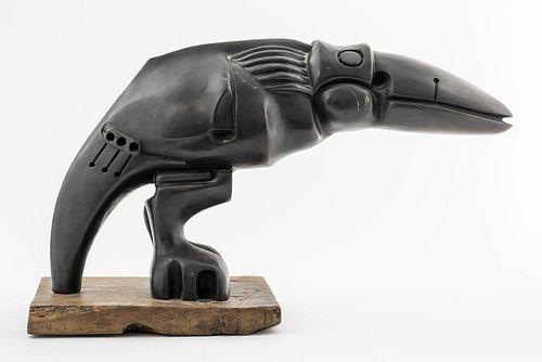 Alexandra Lazareff Modern Abstract Bird Bronze