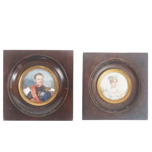 Antique Miniature Portraits
