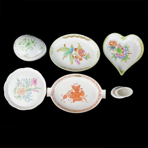 Herend and Hollohaza Porcelain