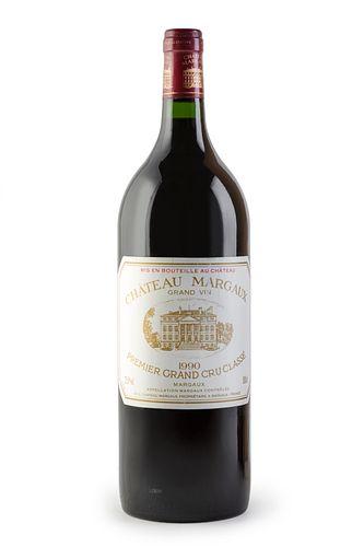 A Magnum bottle of Château Margaux Grand Vin, 1989 Vintage. Premier Grand Cru Classé. Category: red wine. Margaux, Bordeaux (France). Level A. 1,5 L.