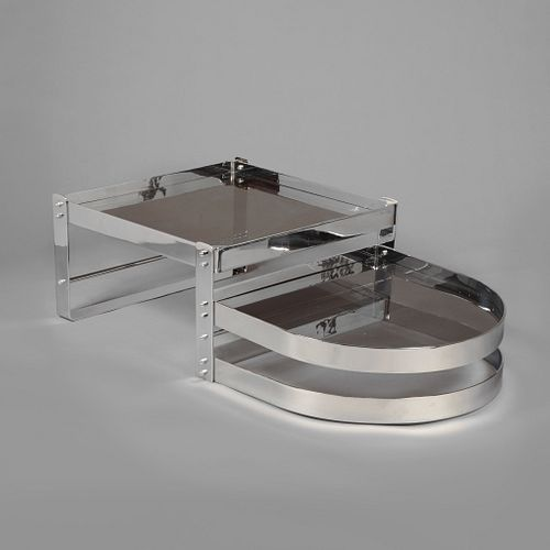 Willy Rizzo, Split Level Coffee Table, ca. 1970