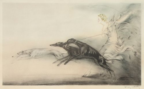 Louis Icart, Vitesse (Speed II), 1933
