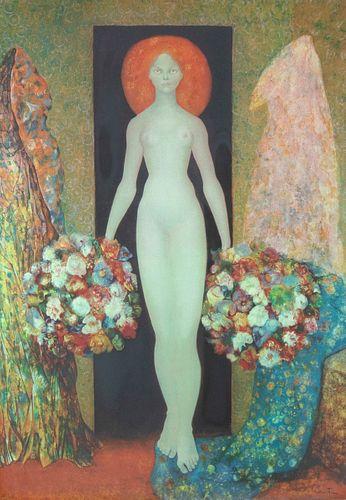Leonor Fini, Heliodora, 1964