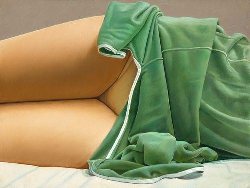 John Kacere, Green Slip - Yellow Panties, 1975