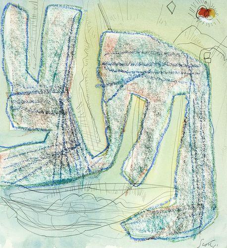 Sam Scott, Untitled, 2003