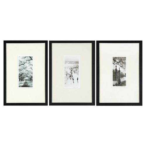 Thea Schrack, Group of Three Photographs