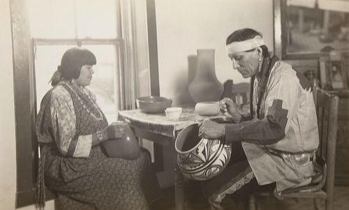 T. Harmon Parkhurst, Julian and Marie, San Ildefonso Pueblo, 1932