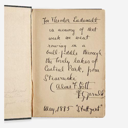 [Literature] Fitzgerald, F. Scott The Great Gatsby