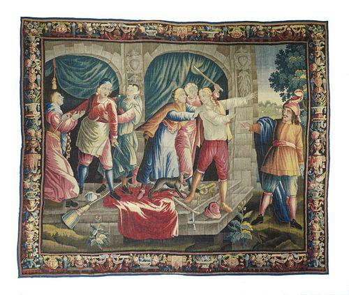 Tapestry, 9'1'' x 11'2''