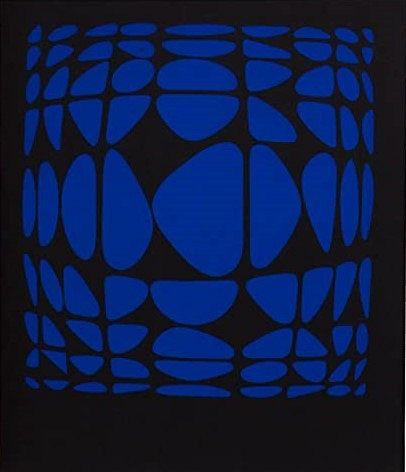 Victor Vasarely - Octal No. 1