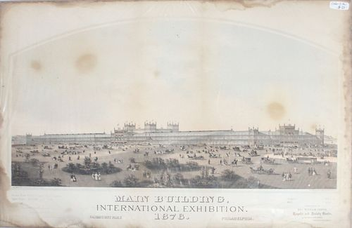 Louis Aubrun - Main Building International Exhibition