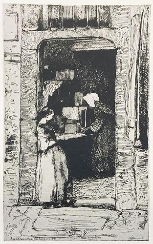 James McNeill Whistler (After) - La Merchande de