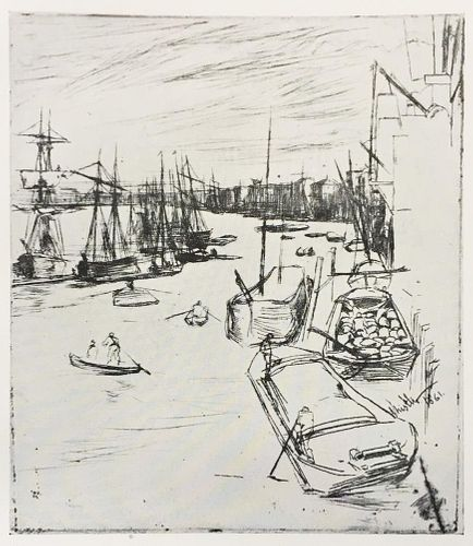 James McNeill Whistler (After) - Little Wapping