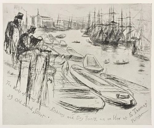 James McNeill Whistler (After) - The Little Pool