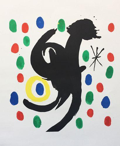 Joan Miro - Untitled V from Les Essencies de la Terra