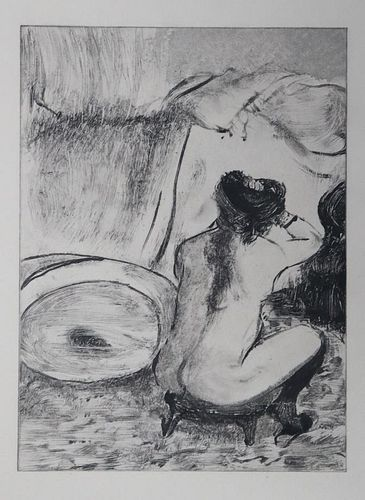 Edgar Degas (After) - Untitled from La famile Cardinal
