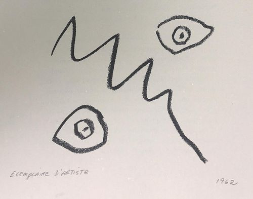 """Pablo Picasso - Untitled XV from """"Cocteau Jean; Picasso"""