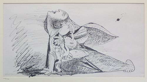 Pablo Picasso (After) - Study for Guernica 8