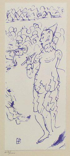 Pierre Bonnard (After) - Untitled (Clown)